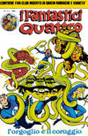 Cover for I Fantastici Quattro (Editoriale Corno, 1983 series) #4
