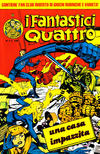 Cover for I Fantastici Quattro (Editoriale Corno, 1983 series) #5
