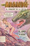 Cover for Arandú, El Príncipe de la Selva (Editora Cinco, 1977 series) #38