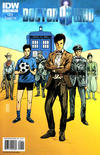 Cover for Doctor Who (IDW, 2011 series) #8 [Cover A]