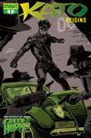 Cover for Kato Origins (Dynamite Entertainment, 2010 series) #1 [Francavilla Spot Color]