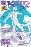 Cover for Kato Origins (Dynamite Entertainment, 2010 series) #1 [Francavilla DF Negative Art]