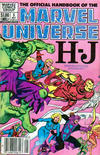 Cover Thumbnail for The Official Handbook of the Marvel Universe (1983 series) #5 [Newsstand]
