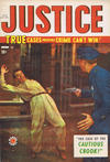 Cover for Justice Comics (Bell Features, 1948 ? series) #17