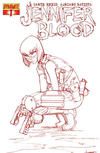 Cover Thumbnail for Jennifer Blood (2011 series) #1 [Blood Red Retailer Incentive]