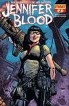 Cover for Jennifer Blood (Dynamite Entertainment, 2011 series) #2 [Eric Basaldua Cover]
