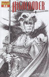 Cover for Highlander (Dynamite Entertainment, 2006 series) #7 [Black-and-White Sketch Retailer Incentive Cover]