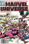 Cover Thumbnail for The Official Handbook of the Marvel Universe (1985 series) #1 [Newsstand]