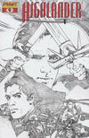 Cover Thumbnail for Highlander (2006 series) #4 [Black-and-White Sketch Retailer Incentive Cover]