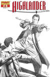 Cover Thumbnail for Highlander (2006 series) #6 [Black-and-White Sketch Retailer Incentive Cover]