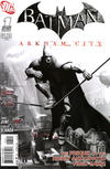 Cover for Batman: Arkham City (DC, 2011 series) #1 [Video Game Art Variant Cover]