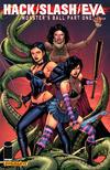 Cover for Hack/Slash/Eva: Monster's Ball (Dynamite Entertainment, 2011 series) #1