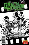 Cover for The Green Hornet: Aftermath (Dynamite Entertainment, 2011 series) #1 [B&W RI]