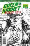 Cover for Green Hornet: Blood Ties (Dynamite Entertainment, 2010 series) #2 [Black, White & Green RI]