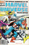 Cover for The Official Handbook of the Marvel Universe (Marvel, 1985 series) #2 [Newsstand]