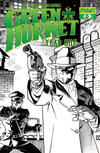 Cover for Green Hornet: Year One (Dynamite Entertainment, 2010 series) #6 [Black, White & Green RI]