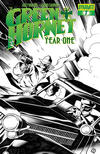 Cover for Green Hornet: Year One (Dynamite Entertainment, 2010 series) #7 [Black, White & Green RI]