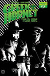Cover for Green Hornet: Year One (Dynamite Entertainment, 2010 series) #8 [Black, White & Green RI]