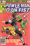 Cover for Power Man and Iron Fist (Marvel, 1981 series) #74 [Newsstand]