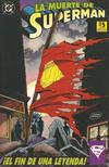 Cover for La Muerte de Superman (Zinco, 1993 series)