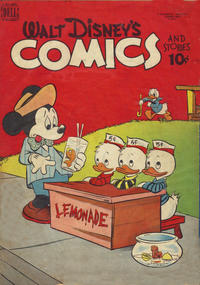 Cover Thumbnail for Walt Disney's Comics and Stories (Wilson Publishing, 1947 series) #v11#4 [124]