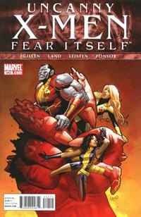 Cover Thumbnail for The Uncanny X-Men (Marvel, 1981 series) #542