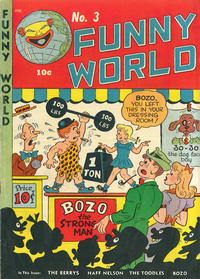 Cover Thumbnail for Funny World (Marbak Press, 1947 series) #3