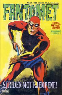 Cover Thumbnail for Fantomet (Semic, 1976 series) #25/1986