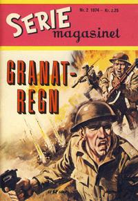 Cover Thumbnail for Seriemagasinet (Serieforlaget / Se-Bladene / Stabenfeldt, 1951 series) #2/1974