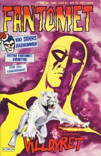 Cover for Fantomet (Semic, 1976 series) #24/1986