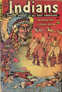 Cover Thumbnail for Indians (Superior Publishers Limited, 1952 series) #10