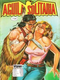 Cover Thumbnail for Aguila Solitaria (Editora Cinco, 1976 ? series) #734