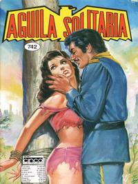 Cover Thumbnail for Aguila Solitaria (Editora Cinco, 1976 ? series) #742