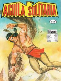 Cover Thumbnail for Aguila Solitaria (Editora Cinco, 1976 ? series) #744