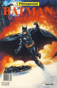 Cover Thumbnail for Batman vender tilbake [Batman filmspesial] (Semic, 1992 series)
