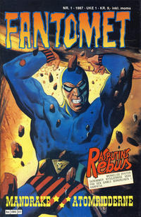 Cover Thumbnail for Fantomet (Semic, 1976 series) #1/1987