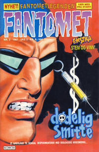 Cover Thumbnail for Fantomet (Semic, 1976 series) #2/1987