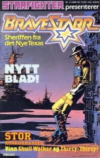 Cover Thumbnail for Bravestarr (Semic, 1988 series) #1/1988
