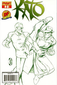 Cover Thumbnail for Kato (Dynamite Entertainment, 2010 series) #1 [Benitez DF Exclusive Cool Green]