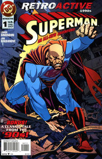 Cover Thumbnail for DC Retroactive: Superman - The '90s (DC, 2011 series) #1