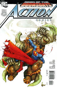 Cover Thumbnail for Action Comics (DC, 1938 series) #904 [Standard Cover]