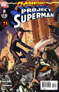 Cover Thumbnail for Flashpoint: Project Superman (DC, 2011 series) #3