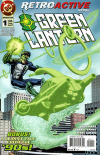 Cover Thumbnail for DC Retroactive: Green Lantern - The '90s (DC, 2011 series) #1