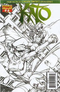 Cover Thumbnail for Kato (Dynamite Entertainment, 2010 series) #2 [Garza Incentive]
