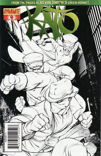 Cover Thumbnail for Kato (Dynamite Entertainment, 2010 series) #4 [Ale Garza Sketch Cover]