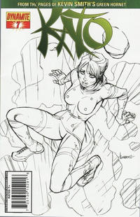 Cover Thumbnail for Kato (Dynamite Entertainment, 2010 series) #7 [Ale Garza Sketch Cover]