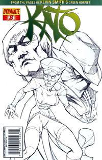 Cover Thumbnail for Kato (Dynamite Entertainment, 2010 series) #8 [Ale Garza Sketch Cover]