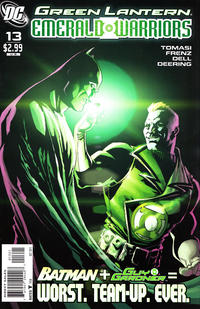 Cover Thumbnail for Green Lantern: Emerald Warriors (DC, 2010 series) #13 [Pete Woods Variant Cover]