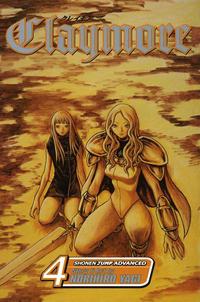 Cover Thumbnail for Claymore (Viz, 2006 series) #4