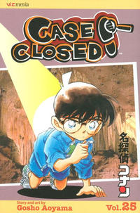 Cover for Case Closed (Viz, 2004 series) #25